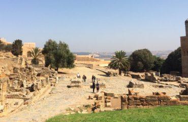 Chellah Ancient Ruins in Rabat