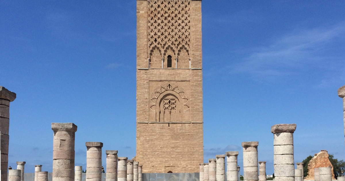 Hassan Tower and Mausoleum of Mohammed V