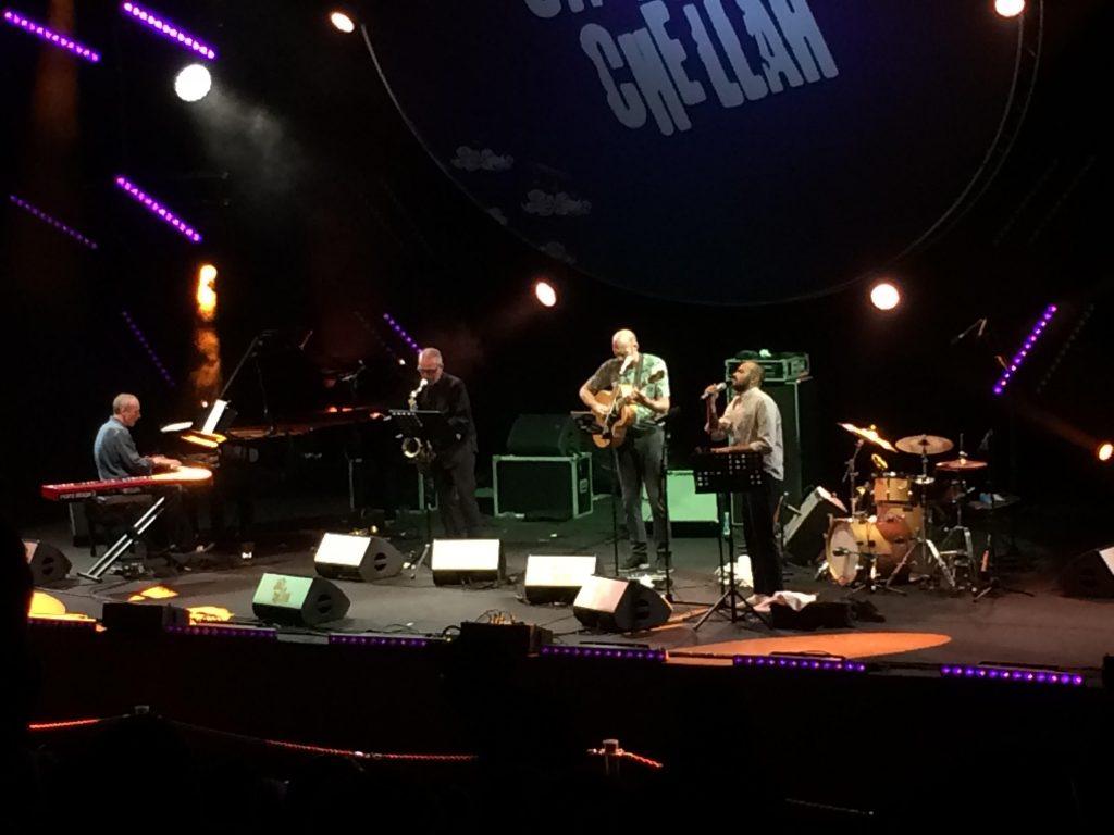 The band SighFire at Jazz au Chellah
