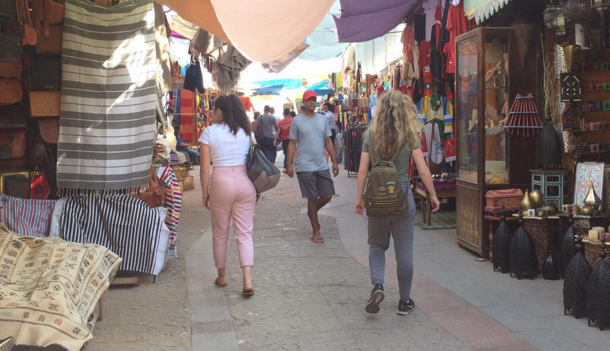 Visiting Rabat's Medina for the first time
