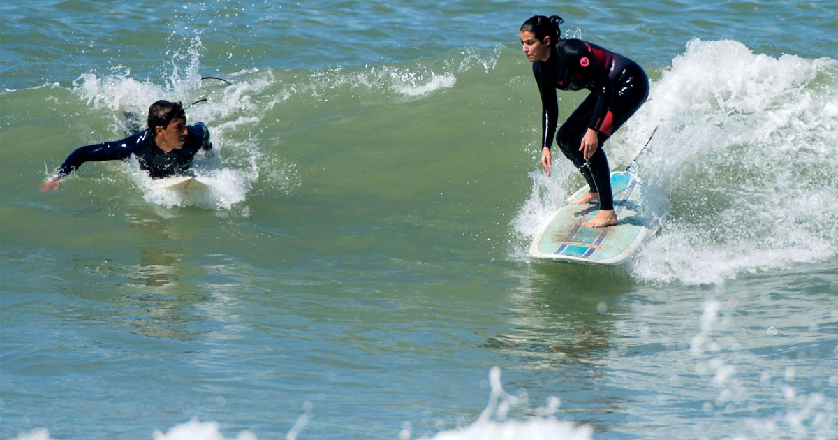 Surfing in Rabat for the First Time