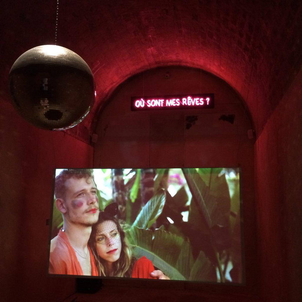 """""""Ou sont mes Reves?"""" """"Where are my dreams"""" artwork as part of Biennale de Rabat 2019"""