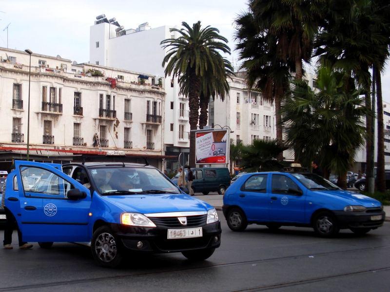 Petit taxis Rabat